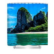 Krabi Beach 2 Shower Curtain