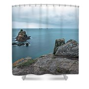 Land's End - England Shower Curtain