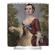 Martha Washington Shower Curtain by Granger
