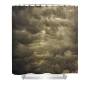 May Nebraska Storm Cells Shower Curtain