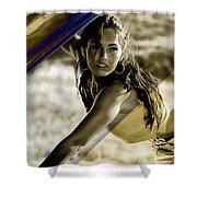 Megan Fox Collection Shower Curtain