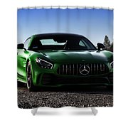 #mercedes #amg #gtr #print Shower Curtain by ItzKirb Photography