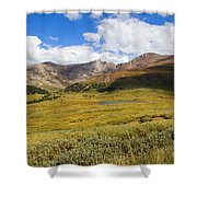 Mount Bierstadt In The Arapahoe National Forest Shower Curtain