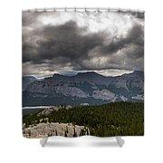 Mount Black Rock Shower Curtain