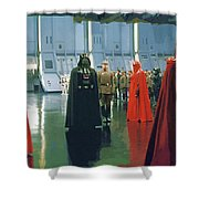 Movie Star Wars Poster Shower Curtain