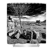 Pamukkale Shower Curtain
