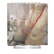 Pizzazz Shower Curtain