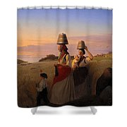Rural Scene Shower Curtain