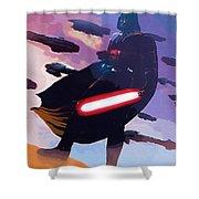 Saga Star Wars Poster Shower Curtain