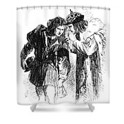 Shakespeare: Richard IIi Shower Curtain