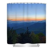 Springtime At Scenic Blue Ridge Parkway Appalachians Smoky Mount Shower Curtain