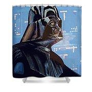 Star Wars 3 Poster Shower Curtain
