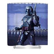 Star Wars Episode 2 Poster Shower Curtain