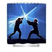 Star Wars Episode 3 Art Shower Curtain