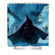 Star Wars Saga Poster Shower Curtain