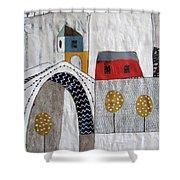Stari Most, Mostar Shower Curtain