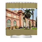 Horse 2 - The Egyptian Museum Of Antiquities - Cairo Egypt Shower Curtain
