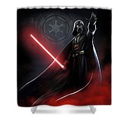 Trilogy Star Wars Art Shower Curtain