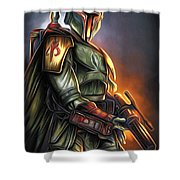 Video Star Wars Poster Shower Curtain