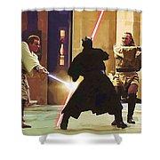 Vintage Star Wars Poster Shower Curtain