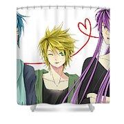 Vocaloid Shower Curtain