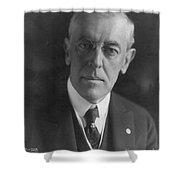 Woodrow Wilson (1856-1924) Shower Curtain