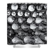100 Bottles On The Wall Shower Curtain