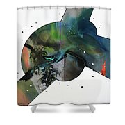 100 Hour Painting Shower Curtain