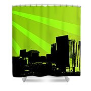 Vector Shower Curtain
