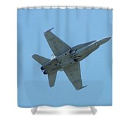 100_3445 F-18 Hornet Shower Curtain
