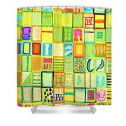 101 Images Shower Curtain