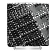 1010 Peachtree Shower Curtain