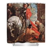 10298 Anthony Van Dyck Shower Curtain