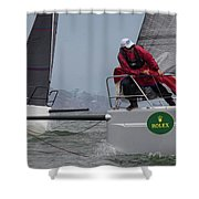 Rolex Bbs Shower Curtain