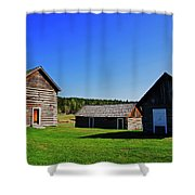 108 Mile House British Columbia Shower Curtain