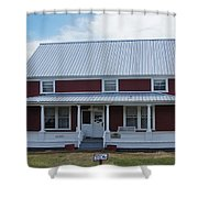 108 Mile Road House Shower Curtain