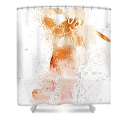 10804 Pluto Shower Curtain
