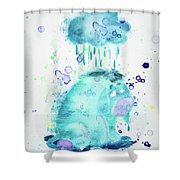 10806 If It Never Shower Curtain