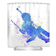 10828 Swing Time Shower Curtain