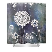 #1083 Wild Flower #1 Shower Curtain