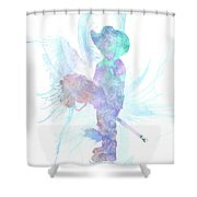 10837 The Cowboy Shower Curtain