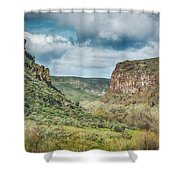 10901 Owyhee Canyon Shower Curtain