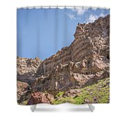 10902 Owyhee River Canyon Shower Curtain