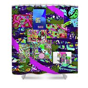 11-22-2015cabcdefghijkl Shower Curtain