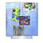 11-22-2015dabcdefghij Shower Curtain