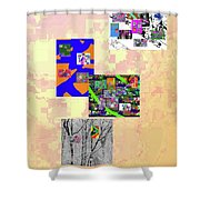 11-22-2015dabcdefghijklmnopqrtuvwxyzabcd Shower Curtain