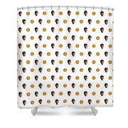 11 And Waffles Shower Curtain