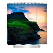 Art Landscape Oil Shower Curtain