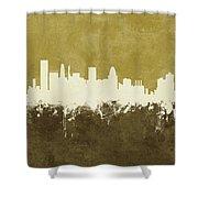Baltimore Maryland Skyline Shower Curtain