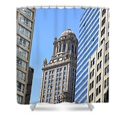 Chicago Skyscrapers Shower Curtain